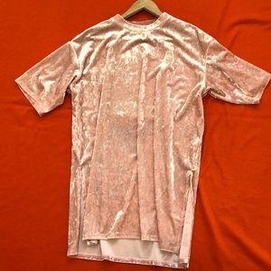 monki Tops - Monki oversized long T-shirt